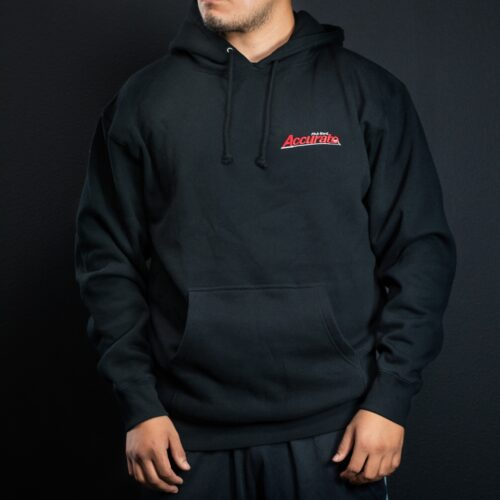 Accurate Hooded Pullover - Black
