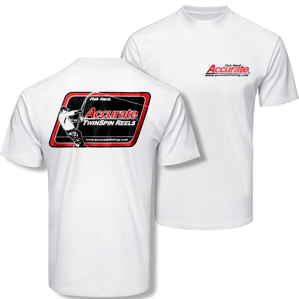 ce35ae65a4 Accurate TwinSpin™ T-Shirt – Accurate Fishing Reels