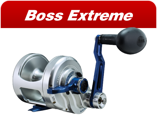 Boss Extreme saltwater reels