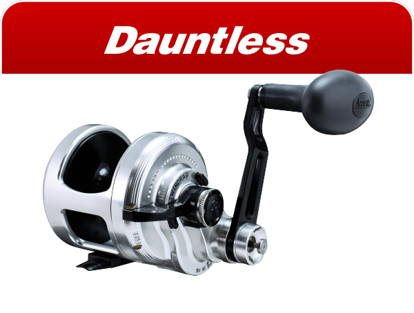 Dauntless saltwater reels