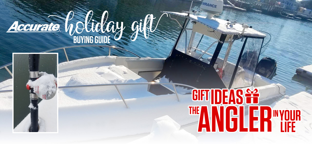 Accurate Holiday Gift guide! Gift ideas fro the angler in your life.